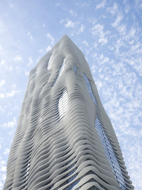 Aqua Tower in Chicago, USA – Studio Gang Architects