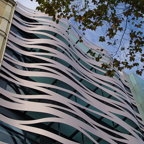 Contemporary Architecture in Barcelona, Commercial Building designed by Toyo Ito by Detlef Schobert