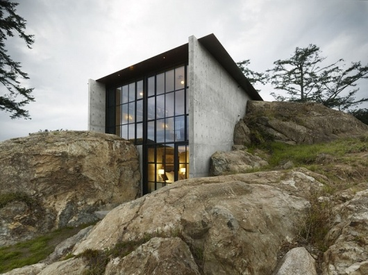 Designspiration — The Pierre, San Juan Islands design by Olson Kundig Architects - Architecture Design – Residential Building, Commercial Building, Public Buildings,