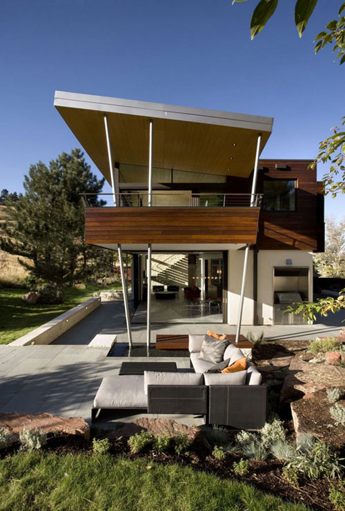 House in Boulder, Colorado, via architectureartdesigns.com