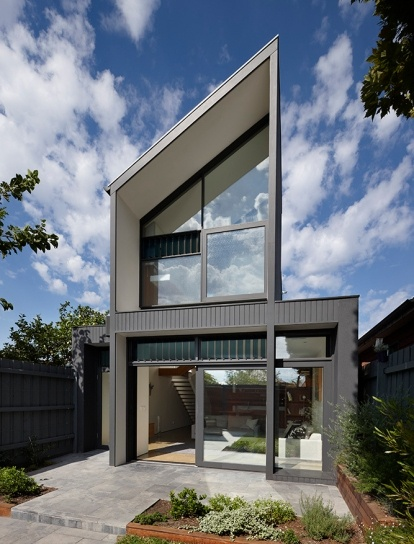 Residential Architecture- North Fitzroy House by AM Architecture